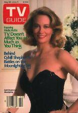 Tv Guide - May 30 - Jun 5, 1987 - Cybill Shepherd of Moonlighting - Media Myths