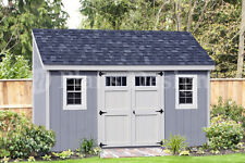 Storage Shed Plans, 6' x 14' Deluxe Lean to / Slant #D0614L, Free Material List