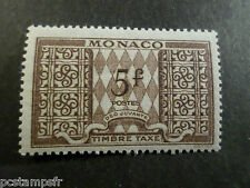 MONACO 1946/57, timbre TAXE 36, neuf**, VF MNH STAMP, TAX
