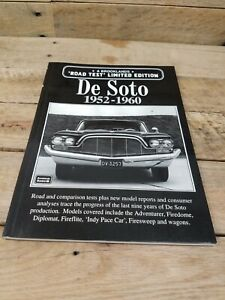 De Soto 1952-1960 by R.M. Clarke, Brooklands Road Test Limited Edition 1988 SC