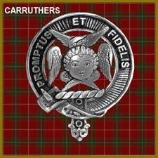 Carruthers Scottish Clan Badge, Pewter