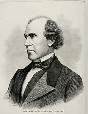 EDWARD H DURELL, NEW ORLEANS MAYOR, US FEDERAL JUDGE, Civil Rights Act of 1866