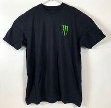 Monster Energy Drink Logo Mens T Shirt Black Sz 2XL - NEW-