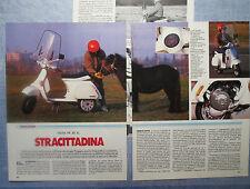 MOTOSPRINT987-PROVA / TEST-1987- VESPA PK 50 XL - 3 fogli
