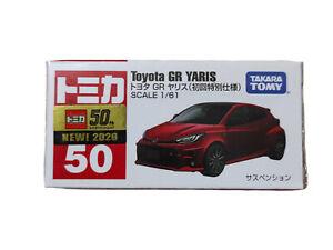 Takara Tomy Tomica 50 Toyota GR Yaris Car Red Launch Edition Diecast