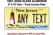 New Jersey Novelty Aluminum State License Plate -CUSTOM, PERSONALIZED Lighthouse