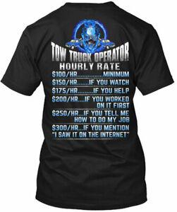 Tow Truck Operators Hourly Rate Gildan Tee T-Shirt