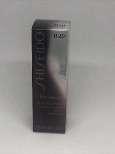 Shiseido The Makeup Stick Foundation SPF20 B20 Natural Light Beige0.35oz-NIB