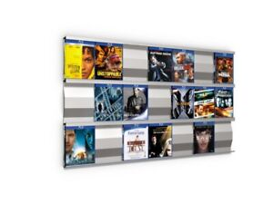 SIGMARAIL® Blu-ray-Regal-System SR7 - Ihre Blu-rays als Blickfang - 2. Wahl