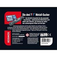 KOSMOS Detektive Die drei ••• Metall-Sucher Detektiv-Set Spiel ab 8 J. 631239