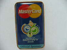 2006 FIFA Germany World Cup Master Card Sponsor Pin Very Rare