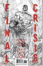 "FINAL CRISIS #6 2ND PRINT / GRANT MORRISON / ""DEATH OF BATMAN"" / DC COMICS"