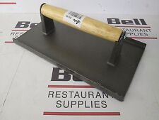 "*NEW* Update SWI-95 Cast Iron 9"" x 5"" Steak Weight / Bacon Press"
