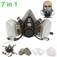 Für 3M 6200 Staubmaske Lackiermaske Atemschutz Halbmaske Gasmaske Wechselfiltern