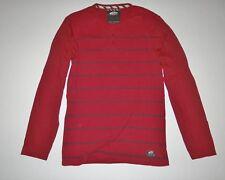 New Vans Mens Oldfield Henley Long Sleeve Cotton Tee t T-shirt Shirt Medium