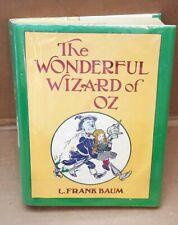1987 The Wonderful Wizard of OZ, L. Frank Baum, Facsimile of 1st Edition, HC L16