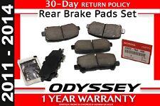 FACTORY HONDA OEM 2011-2014 Odyssey Brake-Rear Pads     (43022-TK8-A00)