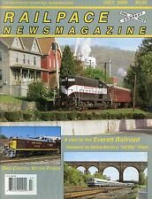 Railpace NewsMagazine July 2004 Vol 23 No 7 Visit To The Everett Railroad