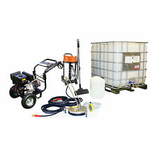 Business Pack Petrol Pressure Washer Vacuum cleaner Drain patio rotary Cleaning