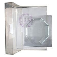 Eyelash Extensions ☆ Crystal Glass Stone Glue Holder Pallet 3pcs Kit ☆ Polygon ☆