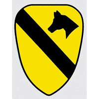 US ARMY 1ST CAVALRY DIVISION STICKER - MADE IN THE USA!!