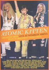 Atomic Kitten - Greatest Hits Live (Live Recording,  DVD, 2004)