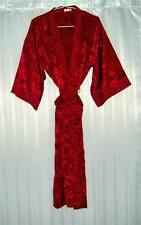 Thai Silk Kimono / Robe / Dressing Gown / Night Dress / Dark Red