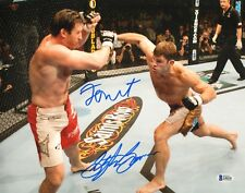 Forrest Griffin Stephan Bonnar Signed 11x14 Photo BAS COA UFC Ultimate Fighter 9