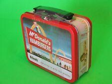 *NEW* 1997 McDonalds Mini Lunch Box Gummies Tin *Sealed*