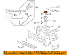 GM OEM Fuel System-Fuel Pump Retainer 10325852