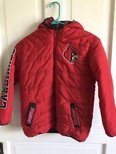 Boys 10-12 PEAK SEASON Louisville Cardinals Red Puffer Jacket Winter Coat