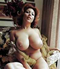 1960s Topless red head pinup with Beautiful Breasts 8 x 10 Photograph