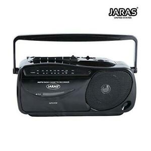 Jaras JJ-2618 Limited Edition Portable Boombox Tape Cassette Player/Recorder