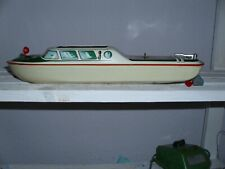 blechspielzeug antik original TIPP & CO polizei boot bespielt ca 37cm lang