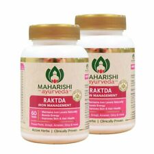 2 x Herbal Maharishi Ayurveda Raktda - Iron Management 60 tablets