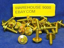 25 Hex Head Sems Bolts ~ Auveco #12335 ~ Ford: N606677-S36 ~ General Purpose Use