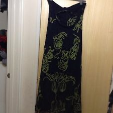 Phase Eight Tapework Halter Neck Maxi Dress Size 18