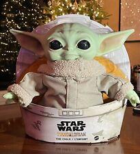 New Star Wars The Mandalorian The Child Baby Yoda 11 inch Plush Doll Figure