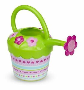 Flower Plastic Watering Can Sunny Patch Kids Toy 16724 Melissa & Doug