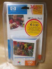 Kit Cartuccia HP 343 Q7934EE Originale (A Colori) 100 Fogli Carta Foto + CD S.
