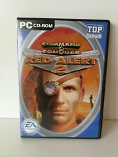 3 Command and Conquer PC games Red Alert 2, Red Alert 3, C&C 4 Tiberian Twilight