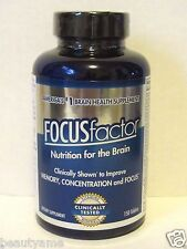 FOCUS Factor Brain Supplement 150 Tablets, Improve Memory, Concentration, Focus