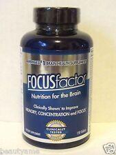 FOCUS Factor Brain Supplement 150 Tablets, Improve Memory, Concentration, Focus