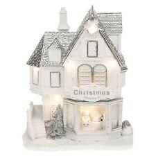Natale Festive SATINATA NEVE LED Negozio di Giocattoli Natale Decorazione