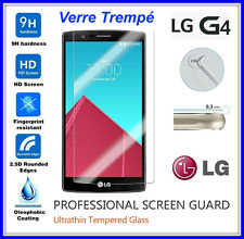 LG G4 Tempered Glass Vitre de protection d'écran en VERRE TREMPE