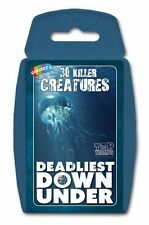 Top TRUMPS Deadliest Down Under Card Game