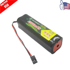 GeiLienergy 1Pcs 9.6V 2000mAh Square Futaba  Battery For  RC Airplanes Cars Heli
