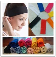 Women Men Sport Sweat Sweatband Headband Yoga Gym Stretch Hairband *USA Seller*