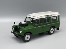 Land Rover Series III 109, grün, 1980 - 1:24 Whitebox  *NEW*