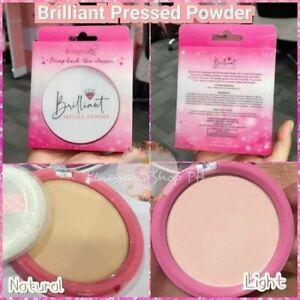 Brilliant  Essentials Press Powder SPF 30 Net Weight  10 g. (Light  Or Natural)